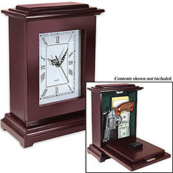Hide a Gun & More - Mantle Clock Concealment - Tall Edition
