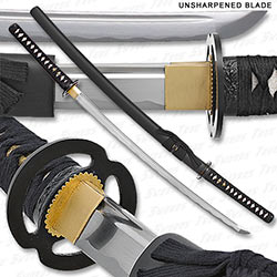 Bushido Musashi - High Carbon Steel Unsharpened Iaito Katana
