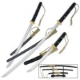 Honshu Full Tang Tactical Sword Set - Collector's Edition