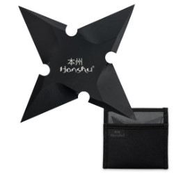 Honshu Ebony Throwing Star – Large