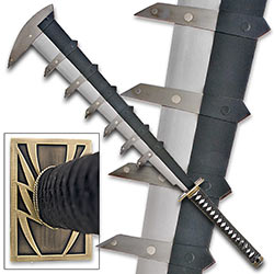 Massive Awakened Spiked Sword - All Metal Blade