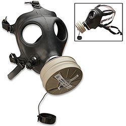 Gasmask - Israeli Made Gas Mask w/ Filter - Adult Size