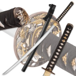 Kengo Golden Dragon Katana