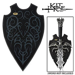 Kit Rae Fantasy Design Sword Wall Display Plaque