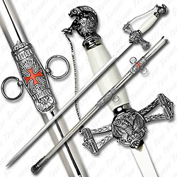 Knight Templar Sword of The Light - Stainless Edition