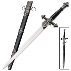 Ornate Medieval Unicorn Dagger – Inspired By History