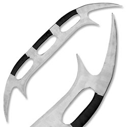 Massive 48 in. Klingon Bat'Leth Style War Sword
