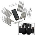 Master Lock Picker's 32pc Set w/ Carry Pouch