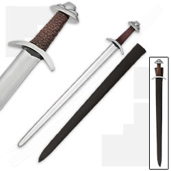 Historically Inspired 33 In. Renaissance Era Middle Ages Short Dress Sword w/ Scabbard