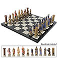 Medieval Crusaders Chess Pieces Set