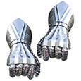 Medieval Steel - Steel Gauntlets w/ Bolted Knuckles