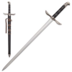 Assassin's Blade - Medieval Display Sword - Eagle Pommel - Eagle Wing Guard