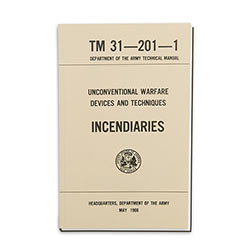 Military Manual - Army Technical Incendiaries