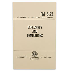 Military Manual - Explosives And Demolitions