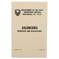 Military Manual - Silencers, Principles & Evaluations