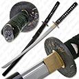 Bushido Musashi - Kyuba no michi Full Tang Sword - Black Saya