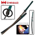 Shinwa Full Tang Damascus Green Emperor Katana