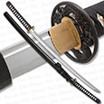 Musashi - 1060 Carbon Steel - Clay Tempered Katana w/ Dragon