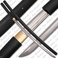 Bushido Musashi - Black Shirasaya Sword Full Tang