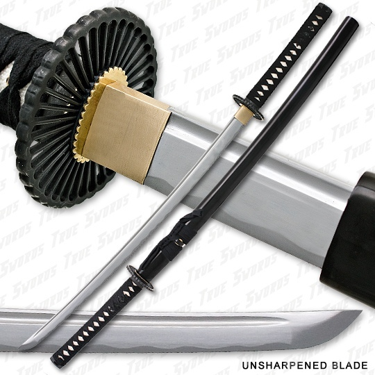 Bushido Musashi - Unsharpened Iaito Training Katana Sword