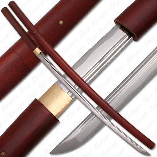 Bushido Musashi Rosewood Shirasaya Sword True Swords