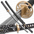 Musashi - 1060 Carbon Steel - Golden Dragonfly Katana Sword