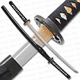 Musashi - 1060 Carbon Steel - Whirlwind Forged Katana Sword