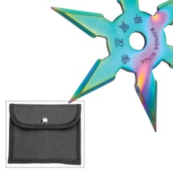 Kohga Ninja Titanium Six-Point Throwing Star