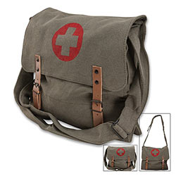 Paratrooper Bag - Red Medic Symbol