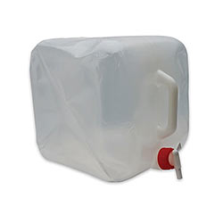 Portable Water Container - Holds 5 Gallons - Collapsible