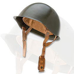 Military Surplus WWII M52 Steel Helmet