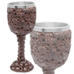 Rusted Skull Gothic Goblet