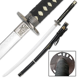 Imperial Japanese Samurai Warrior Katana Sword - 37""