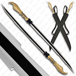 Scorpion Stinger Twin Sword Set w/ Back Sheath