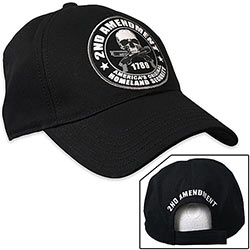 Baseball Cap - 2nd Amendment - Homeland Security