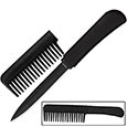 Self Defense Comb w/ Hidden Knife Blade