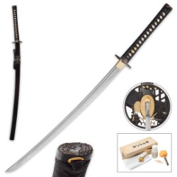 Samurai Bridge Shinwa Damascus Katana