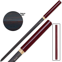 Shinwa Samurai Double Edged Odachi w/ Crimson Damascus