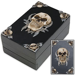Dark Housewares - Skull Box of Horrors