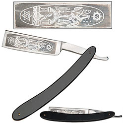 Straight Razor - Masonic Artwork