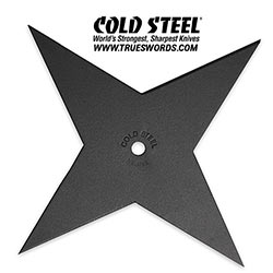 Cold Steel - High Carbon Steel Shuriken Throwing Star