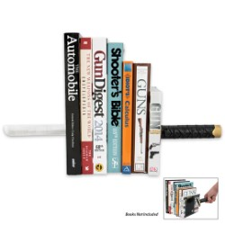 Samurai Sword Bookshelf