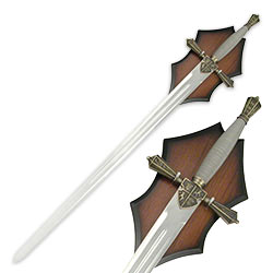 Royal Crusader Sword w/ Wire Wrapped Handle