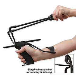 Tactical Slingshot w/ Sight Bar