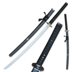 Ten Ryu Hand Forged Katana Black