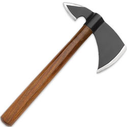 Carbon Steel Throwing Hatchet w/ Hardwood Handle, 12 In. Overall