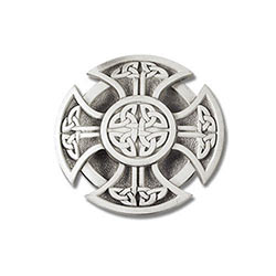 Celtic Cross Belt Buckle A