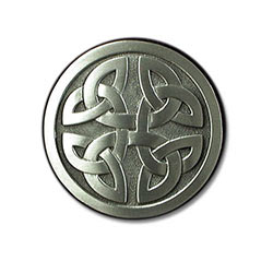 Celtic Cross Belt Buckle B