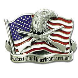 American Freedom Belt Buckle