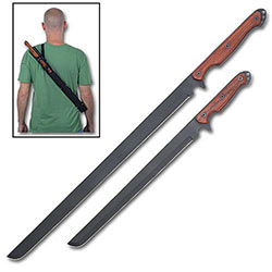 Black Mamba Duo Full Tang Twin Swords